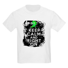 Lyme Disease Keep Calm and Fight On T-Shirt