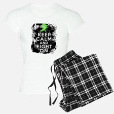 Lyme Disease Keep Calm and Fight On Pajamas