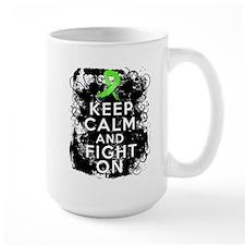 Lyme Disease Keep Calm and Fight On Mug