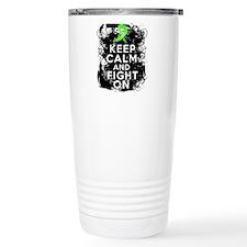 Lyme Disease Keep Calm and Fight On Travel Mug