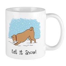 Shiba Inu Let it Snow Mug