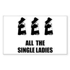 All The Single Ladies Decal