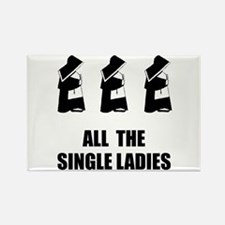 All The Single Ladies Rectangle Magnet (10 pack)