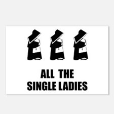 All The Single Ladies Postcards (Package of 8)