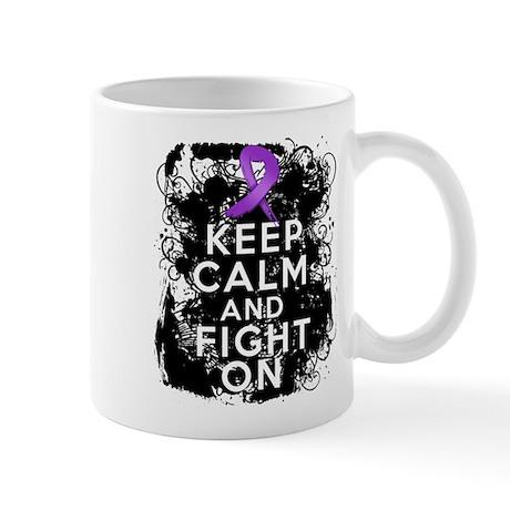 Lupus Keep Calm and Fight On Mug