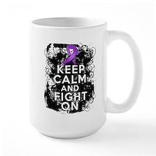 Lupus Keep Calm and Fight On Coffee Mug