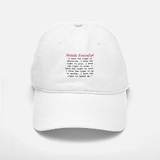 Malala's Rights Baseball Baseball Cap