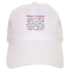 Malala's Rights Baseball Cap