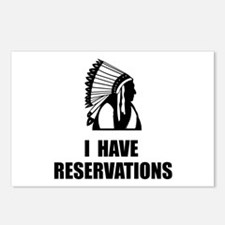 I Have Indian Reservations Postcards (Package of 8