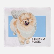 Pom Pose Throw Blanket
