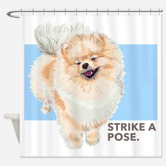 Pom Pose Shower Curtain