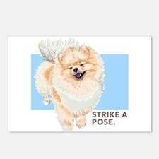 Pom Pose Postcards (Package of 8)