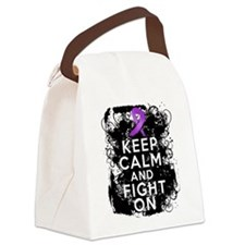 Leiomyosarcoma Keep Calm and Fight On Canvas Lunch