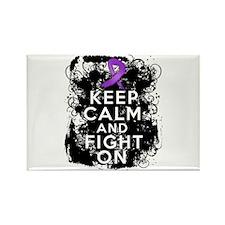 Leiomyosarcoma Keep Calm and Fight On Rectangle Ma