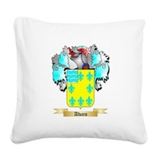Alvaro Square Canvas Pillow