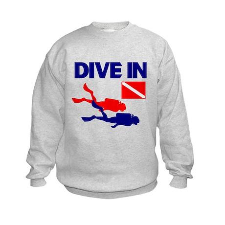 Dive In T-shirt Kids Sweatshirt