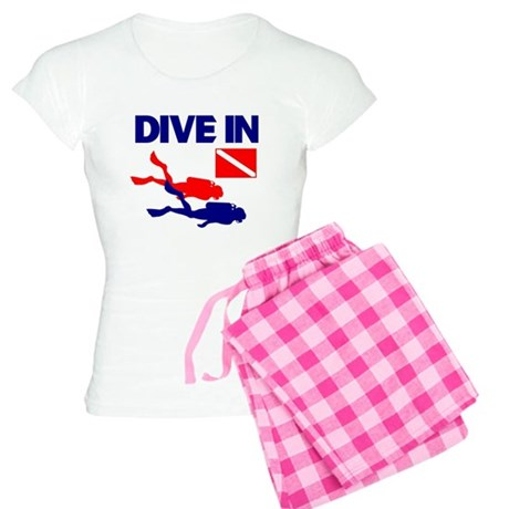 Dive In T-shirt Women's Light Pajamas