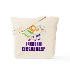 Piano Teacher Gift Tote Bag