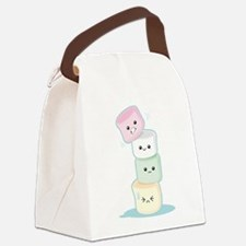 Stacked Marshmallows Canvas Lunch Bag