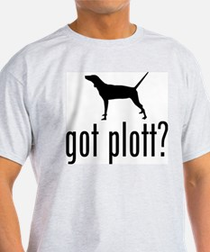 Plott Hound Ash Grey T-Shirt