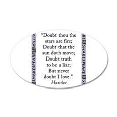 Doubt Thou The Stars Are Fire Wall Decal