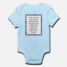 Doubt Thou The Stars Are Fire Infant Bodysuit