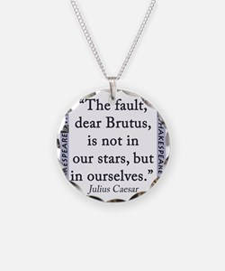 The Fault, Dear Brutus, Is Not In Our Stars Neckla