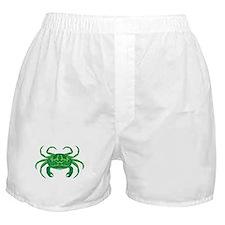 Green Crab Boxer Shorts