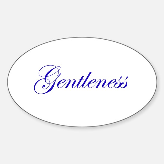 Gentleness Sticker (Oval)