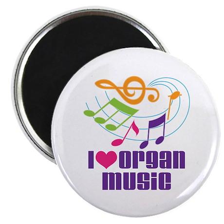 I Love Organ Music Magnet