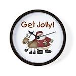 Get Jolly Wall Clock