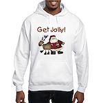 Get Jolly Hooded Sweatshirt