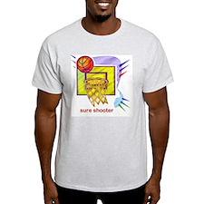 SURE SHOOTER Ash Grey T-Shirt