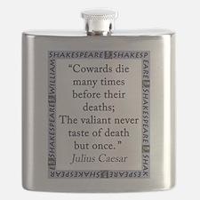 Cowards Die Many Times Flask
