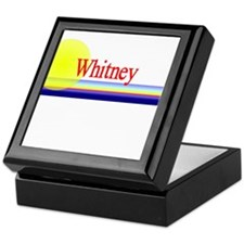 Whitney Keepsake Box