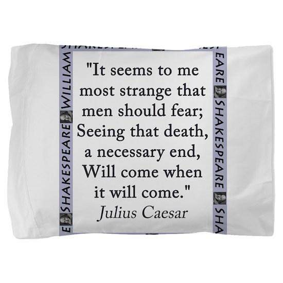 It Seems to Me Most Strange Pillow Sham