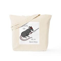 Rats are Nature's Ninjas Tote Bag