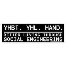 YHBT Bumper Bumper Sticker