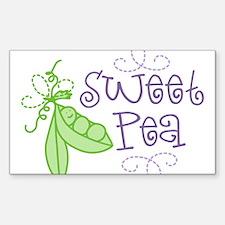 Sweet Pea Decal
