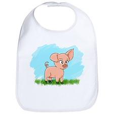 Little Piggy pig pig Bib