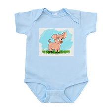 Little Piggy pig pig Infant Bodysuit