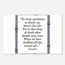 To Sleep: Perchance to Dream Postcards (Package of