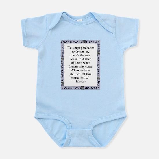 To Sleep: Perchance to Dream Infant Bodysuit