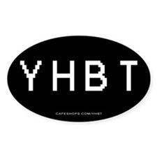 YHBT Oval Decal