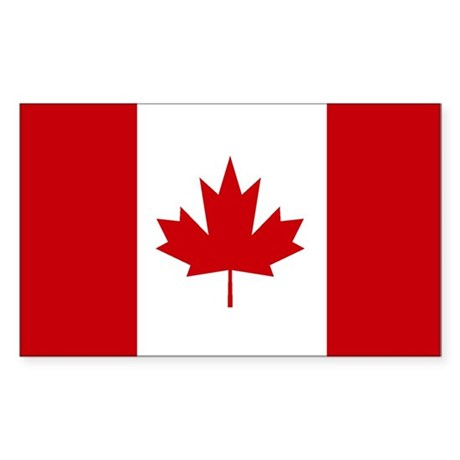 Canadian Flag (Rectangular)