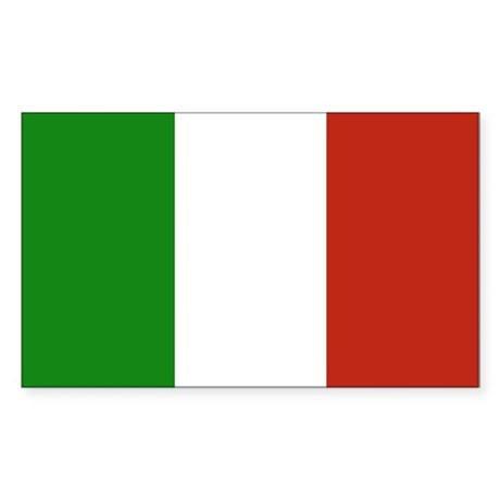 Italian Flag (Rectangular)