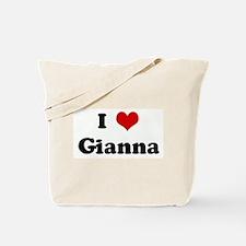I Love Gianna Tote Bag