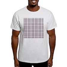 Patriotic Plaid Print T-Shirt