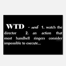 Watch the Director Black Postcards (Package of 8)