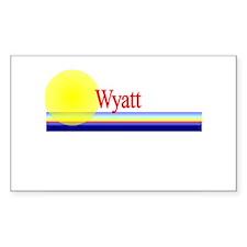 Wyatt Rectangle Decal